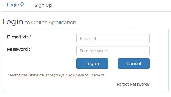 Login Form - Shiv Nadar University, Greater Noida