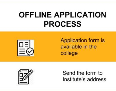 Offline Application Process-Institute of Management and Information Science