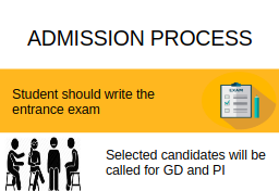Admission Process-Sant Longowal Institute of Engineering and Technology, [SLIET] Sangrur
