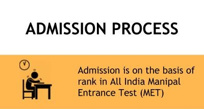 Admission Process - Manipal Institute of Technology, Manipal University