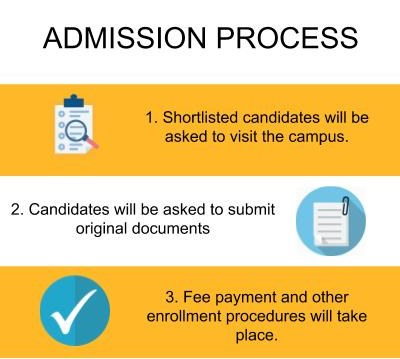 UEI Global, Chandigarh-Admission Process