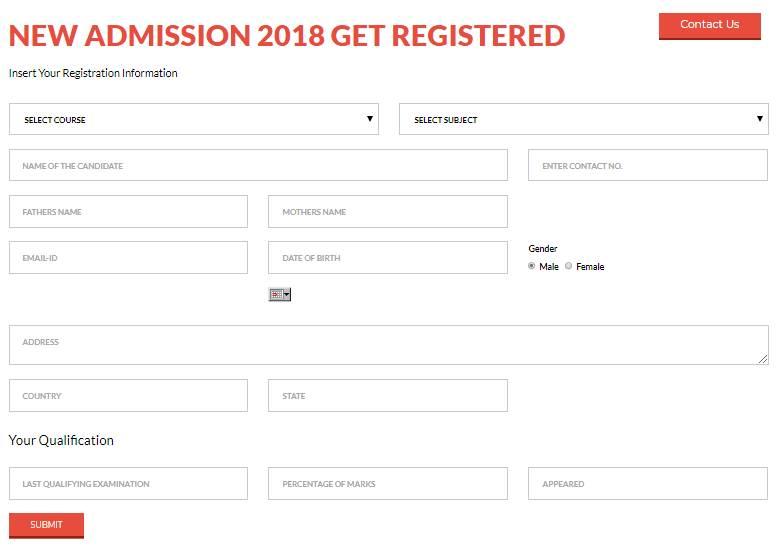 Application form-Mohammad Ali Jauhar University,Rampur