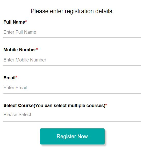 Registration Form - CMR University, Bangalore