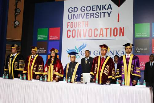 GD Goenka 4th Convocation