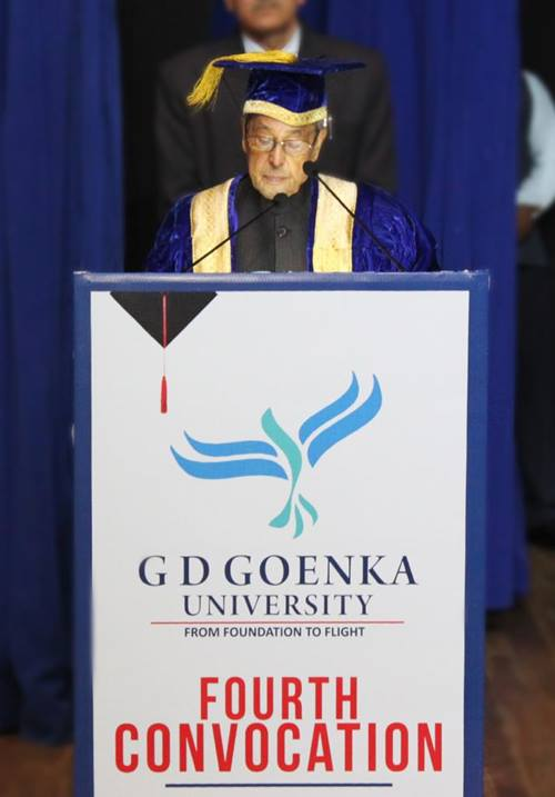 GD Goenka Convocation