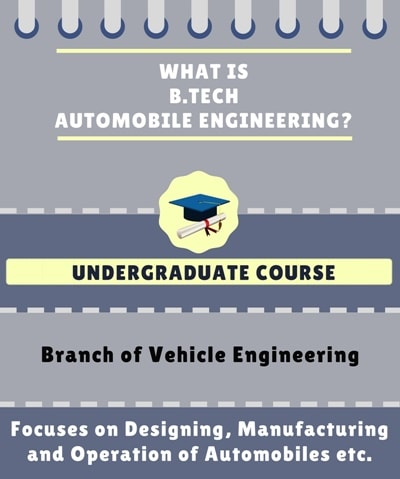 What is Automobile Engineering?