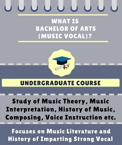 What is Bachelor of Arts [BA] (Music Vocal)?