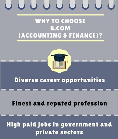 Why to choose Bachelor of Commerce [B.Com] in Accounting and Finance?