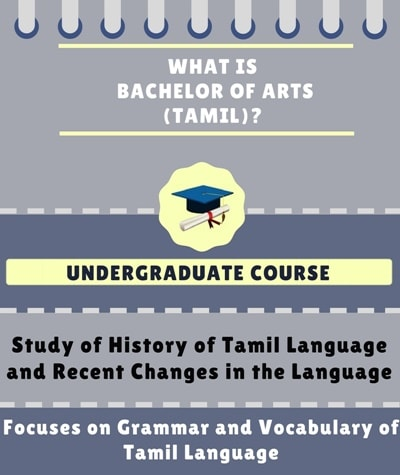What is Bachelor of Arts [BA] (Tamil)?