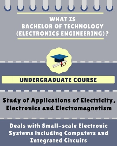 What is Bachelor of Technology [B.Tech] (Electronics Engineering)?