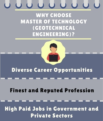 Why Choose Master of Technology [M. Tech] (Geotechnical Engineering)?