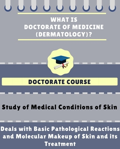 What is Doctorate of Medicine [MD] (Dermatology)?