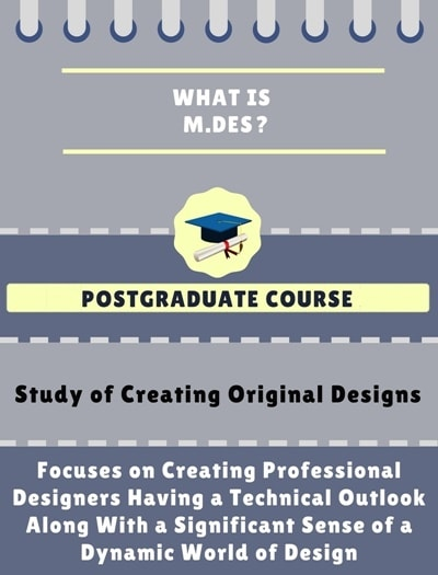 What is Master of Design [M.Des]?