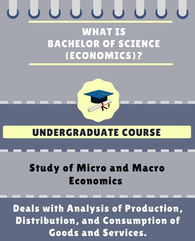 What is Bachelor of Science [B.Sc] (Economics) ?