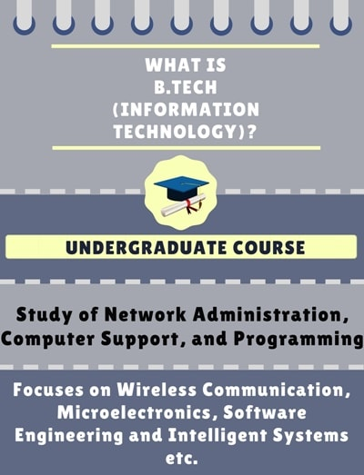 What is Bachelor of Technology [B.Tech] (Information Technology)?