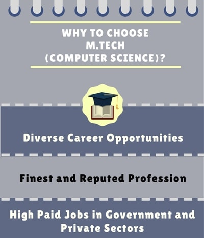 Why choose Master of Technology [M.Tech] (Computer Science and Engineering)?