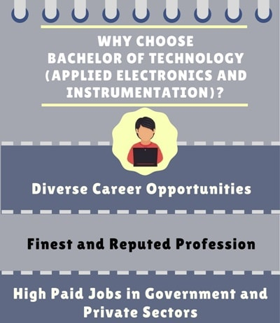 Why Choose Bachelor of Technology [B.Tech] (Applied Electronics and Instrumentation)?
