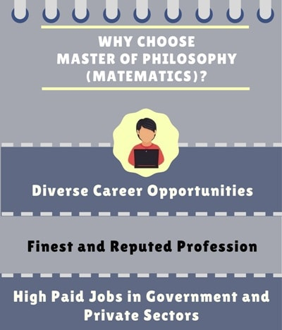Why Choose Master of Philosophy [M.Phil.] (Mathematics)?
