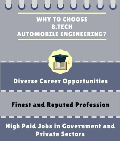 Why choose Automobile Engineering?