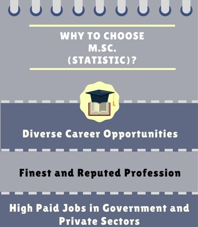 Why choose Master of Science [M.Sc] Statistics?