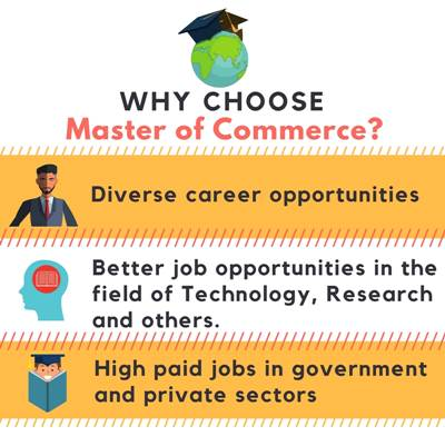 Why choose Master of Commerce [M.Com]?