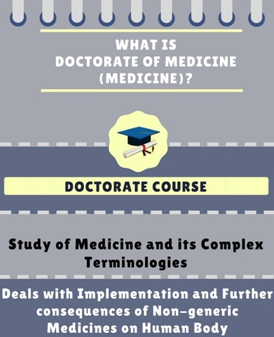 What is Doctorate of Medicine [MD] (Medicine)?