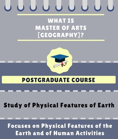 What is Master of Arts [MA] ( Geography)?