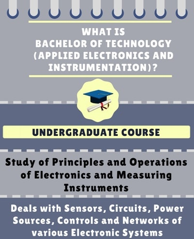 What is Bachelor of Technology [B.Tech] (Applied Electronics and Instrumentation)?