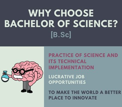 Why choose B.Sc