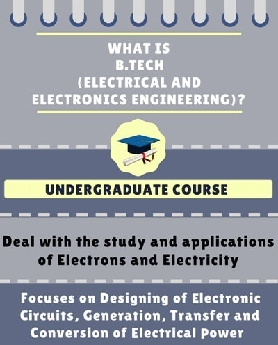 What is Bachelor of Technology [B.Tech] (Electrical and Electronics Engineering)?