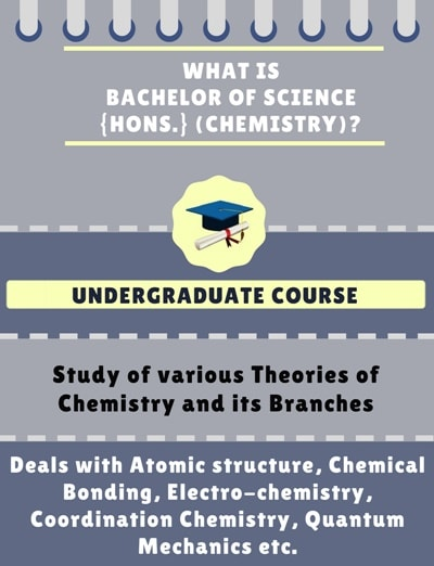 What is Bachelor of Science [B.Sc] {Hons.} (Chemistry)?