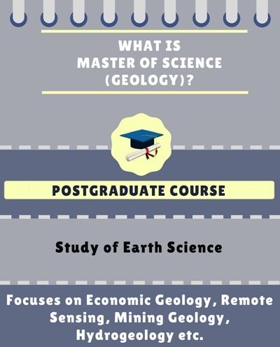 What is Master of Science [M.Sc] (Geology)?