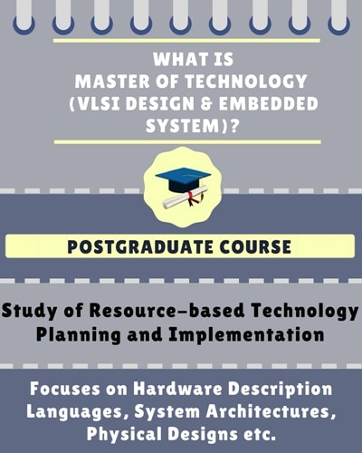 Master Of Technology M Tech Vlsi Design Embedded System Course Details Admissions Eligibility Duration And Course Fees