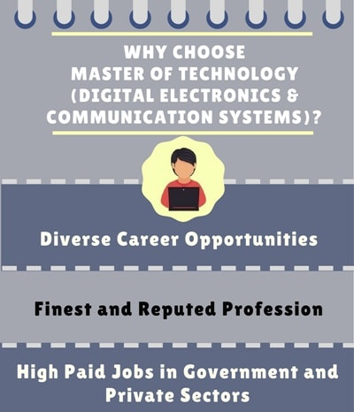 Why Choose Master of Technology [M.Tech] (Digital Electronics & Communication Systems)?