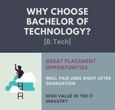 Why choose B.Tech?