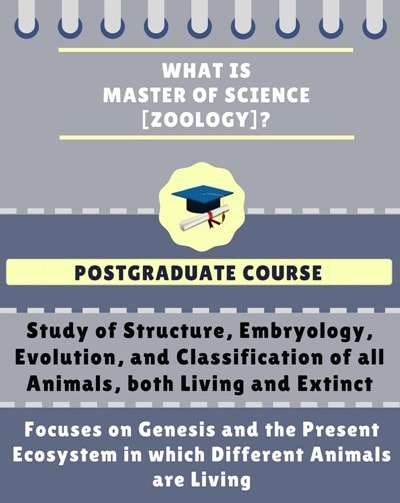 What is Master of Science [M.Sc] (Zoology)?