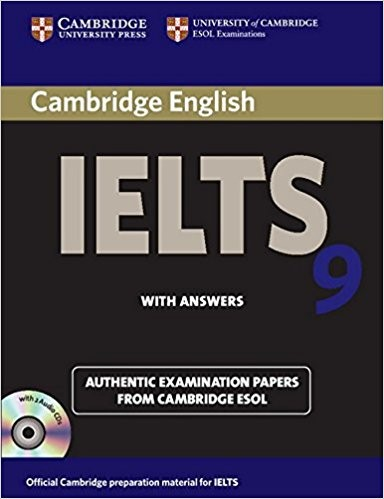 Cambridge English IELTS 9: with Answers and 2 Audio CDs