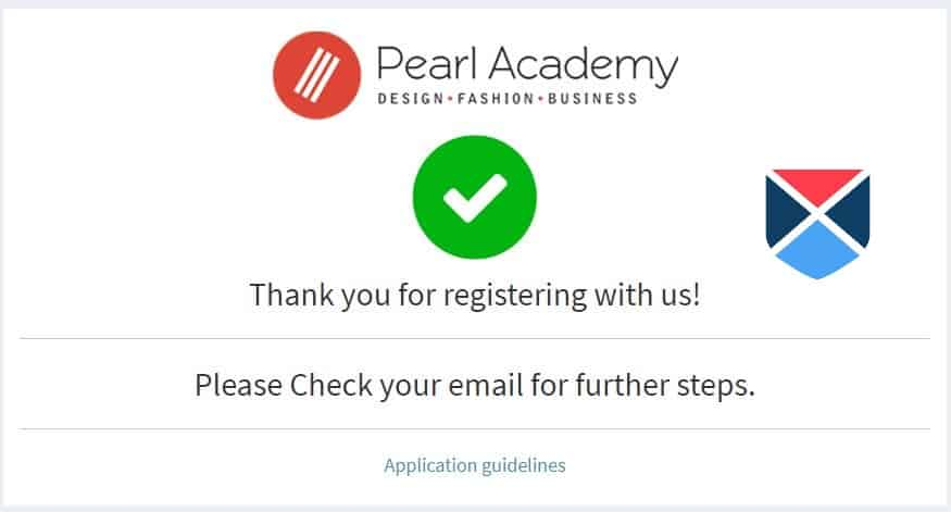 Pearl Academy Entrance Exam 2018 Application Form