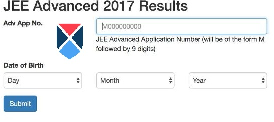JEE Advanced Result page getmyuni