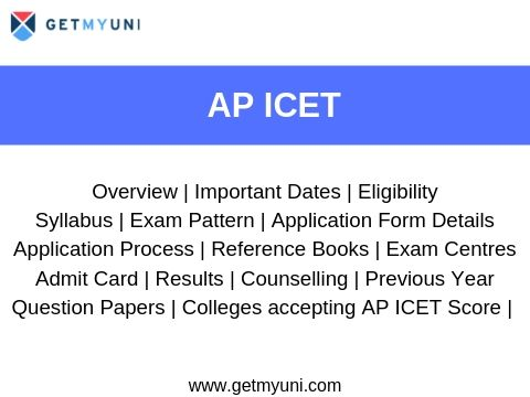 AP ICET - Dates, Registration, Eligibility, Result, Admit Card