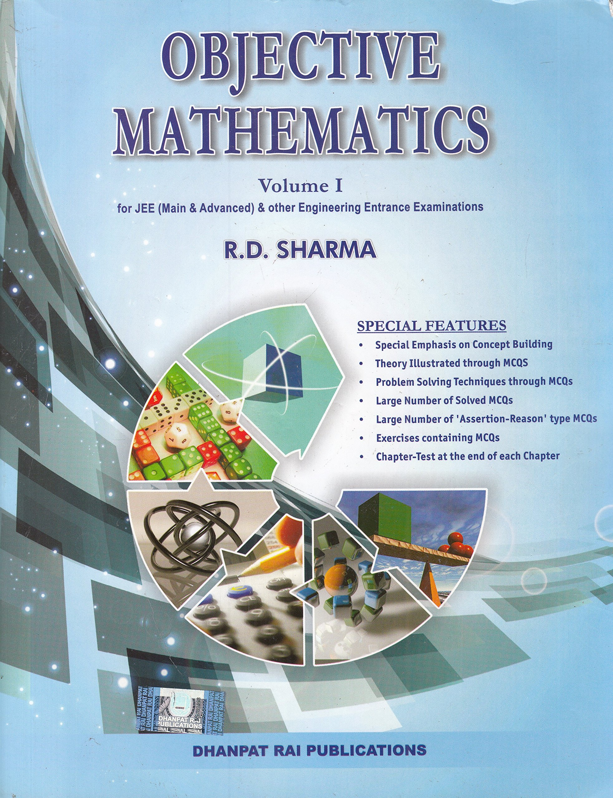 Objective books by R D sharma