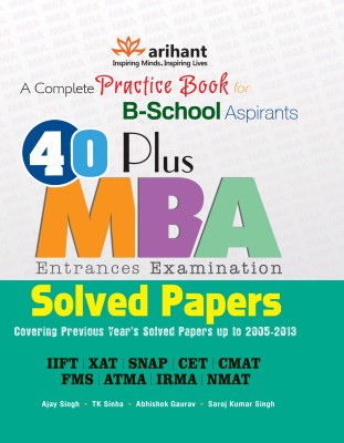A complete Practice Book for B - School Aspirants by Arihant