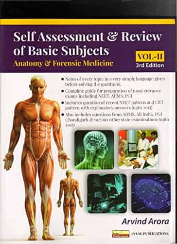 Self-Assessment & Review of Basic Subjects (Anatomy & Forensic Medicine) by Arvind Arora