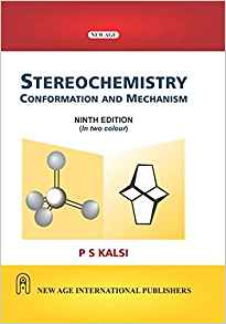 IIT JAM 2019 references - Stereochemistry Conformation and Mechanism-P.S. Kalsi