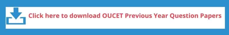 OUCET 2018 Previous Year Question Papers