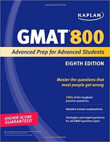 GMAT Important books