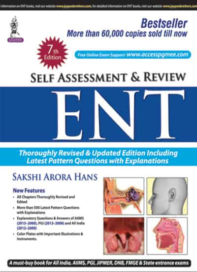 Self-Assessment & Review ENT by Sakshi Arora