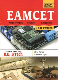 EAMCET Physics, Mathematics and Chemistry Test Papers by Vikram Editorial