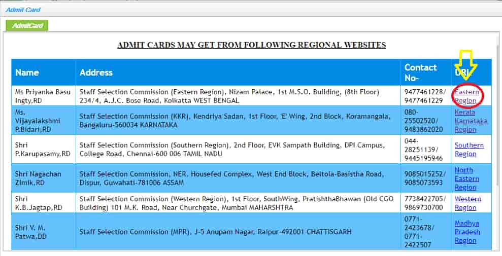 ssc mts admit card 2