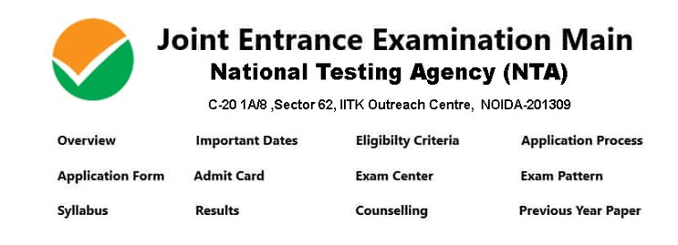 Contents for JEE Main Exam